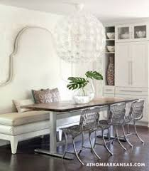 Dining Room Booth Seating by Baxton Studio U0027madelyn U0027 Beige Linen Modern Banquette Bench By