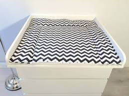 change table mat changing mat chevron black white puckdaddy nursery furniture