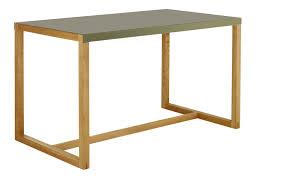 Kleiner Schreibtisch Eiche Schreibtisch Habitat Kilo Rechteckiger Tisch Aus Metall Und