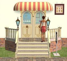 mod the sims downloads buy mode by function community lot arcady ice cream parlour pt 3