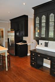 the collected interior black painted kitchen cabinets lacquer