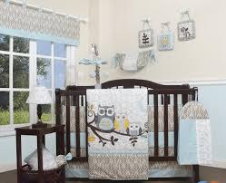 Owls Crib Bedding Geenny Enchanted Forest Owls Family 13 Crib Bedding Set