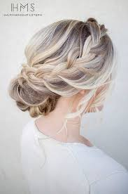 tuck in hairstyles bridesmaid hairstyles for long thick hair 25 unique thick hair