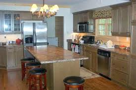 kitchen island wall kitchen on one wall with island one wall kitchen designs with