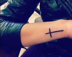 side cross tattoos for women creativefan