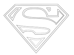 printable coloring pages superman