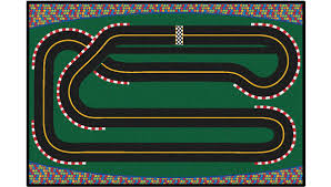 Kids Street Rug by Super Speedway Racetrack Rug Carpets For Kids
