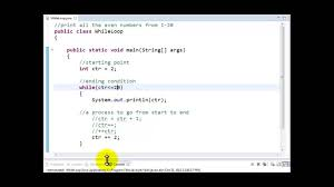 Example Of Skills For Resume by Java Tutorial Count Controlled While Loop 2 Youtube