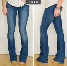 what shoes to wear with flare jeans