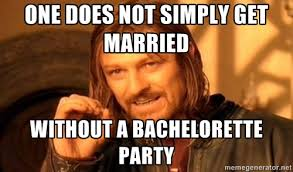 Bachelor Party Meme - need table wares for your party then visit us party source