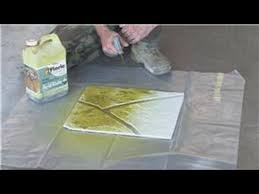 How To Stain Concrete Patio Yourself Decorative Concrete Techniques How To Stain Concrete Youtube