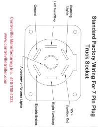 7 Way Trailer Harness Diagram Awesome How To Wire A 7 Way Trailer Plug Pictures And Truck Wiring