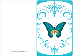 free bday cards butterfly card free birthday card printables