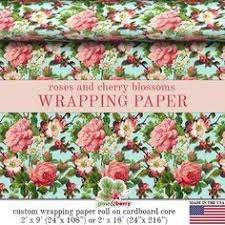 floral wrapping paper rolls pink roses floral wrapping paper garden gift wrap