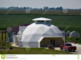 geodesic dome house geodesic dome editorial image image 75672130