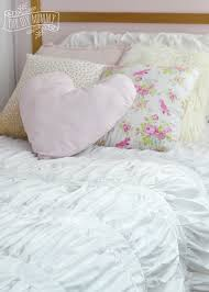 make shabby chic glam kids u0027 bedding little c u0027s bedroom makeover