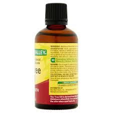 spring valley tea tree oil skin health 2 oz walmart com
