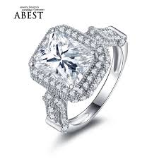 aliexpress buy 2ct brilliant simulate diamond men 4110 best vintage engagement rings images on rings