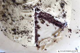 gluten free chocolate cake with cheesecake frosting u0026 cookie