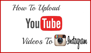 how to upload youtube video to instagram video media io