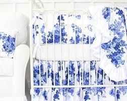 Shabby Chic Blue Bedding by Shabby Chic Rose Ruffle Baby Bedding Set Vintage Baby