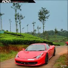 Ferrari 458 Green - red ferrari 458 italia adv7 track spec sl wheels adv 1 wheels