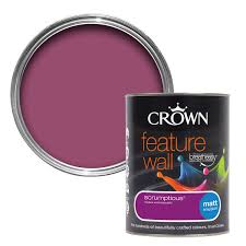 B Q Paint Colour Chart Bedrooms Crown Scrumptious Matt Emulsion Paint 1 25l Rooms Diy At B U0026q