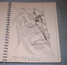 46 original dc comic convention sketches in book jimenez perez