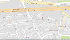 T Boston Map by Man Killed By Train In Brighton Boston Ma Patch