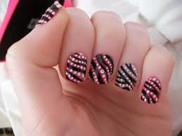 nail new designs with bling acrylic nail for girls 2017 2018