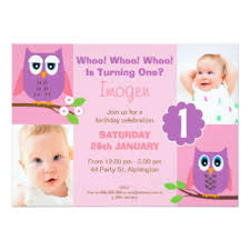 owl birthday invitations u0026 announcements zazzle canada