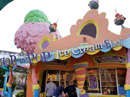 coke zero halloween horror nights discount hop on pop ice cream shop in universal orlando menu and location
