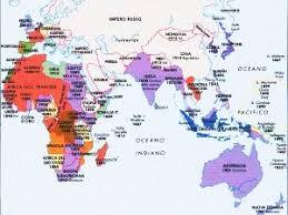 africa e asia mappa percorsi il grande gioco il sistema delle alleanze