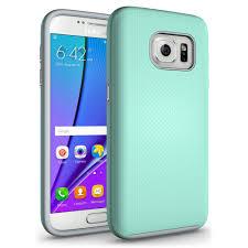 Samsung Galaxy Rugged Samsung Galaxy S7 Rugged Hybrid Armor Case Green