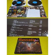 si e de massada massada live by massada lp x 2 with hi vinyl ref 3080080403