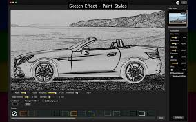 sketch effect paint styles on the mac app store
