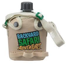 amazon com backyard safari field canteen toys u0026 games