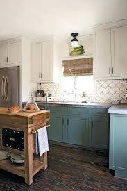 blue kitchen cabinets ideas multi colored kitchen cabinets ideas with black appliances