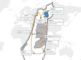 Israel World Map Israel Highlights Tour Holidays To Israel Cyplon Holidays