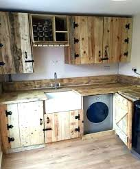 kitchen cabinets from pallet wood diy pallet archives diy home