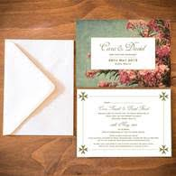 wedding invitations malta floral wedding invitations