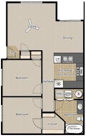 2 Bedroom 1 Bath Apartment Floor Plans Medford Oregon Floor Plans Oregon