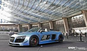 audi r8 razor gtr razor gtr spyder for sale only one in existence