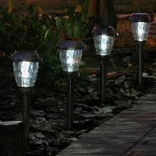 Landscaping Lights Solar Charleston Solar Pathway Lights Pewter 3426wrm6 Hp