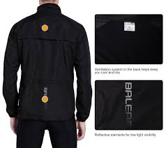 bicycle windbreaker jacket amazon com baleaf men u0027s windproof cycling windbreaker jacket