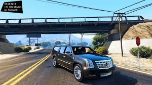 future cadillac escalade 2013 cadillac escalade esv platinum new enb top speed test gta mod