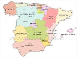 Spain Map Spain Maps By Freeworldmaps Net