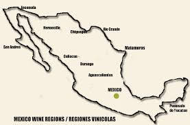 Hermosillo Mexico Map by Wines