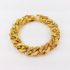 new arrival fashion 24k gp gold plated mens women jewelry 1stglobal