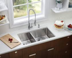 How To Clean Kitchen Sink With Baking Soda Kitchen Sink Vinegar Baking Soda Cleaner Unclog Drain Pipe Best